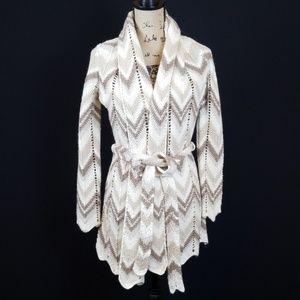 Lucky Brand wool alpaca knitted cardigan kmo:8:719
